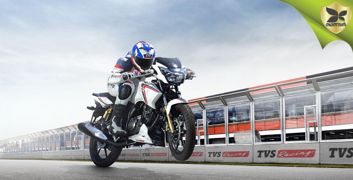 TVS Launched The New Apache RTR 180 Race Edition