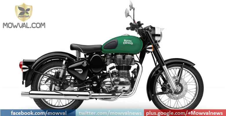 Royal Enfield launches Classic 350 With Three New Colours