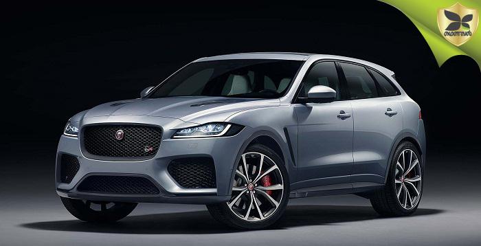 2018 New York Auto Show: Jaguar F-Pace SVR Revealed