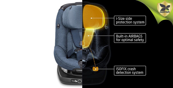 First Child Car Seats with Airbags Launched In UK
