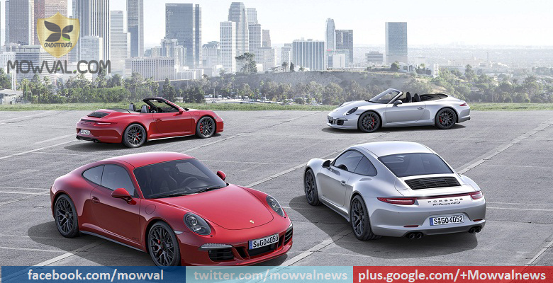 Porsche Unveils Updated 911 GTS