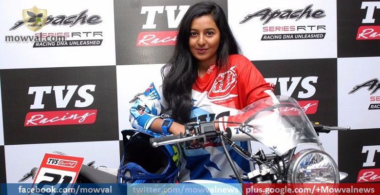 TVS Racing appoints first woman racer in their team