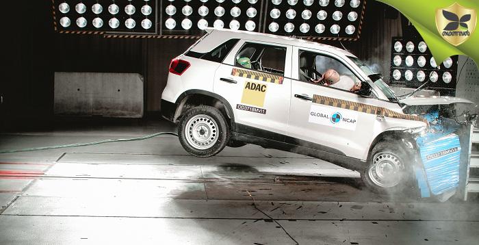 After Tata Nexon, Maruti Suzuki Vitara Brezza Scores Four Star Rating In Global NCAP