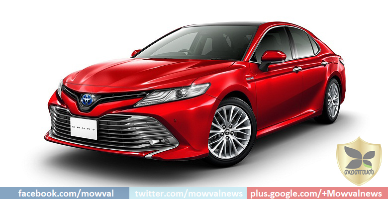 2018 Toyota Camry unveiled in Japan