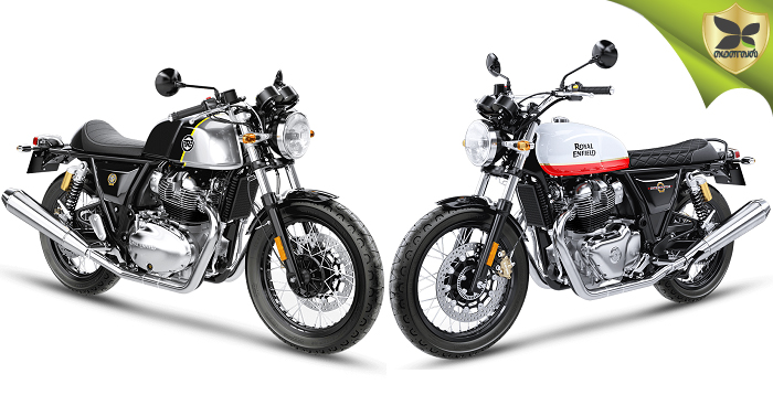 Royal Enfield Interceptor 650 And Continental GT 650 To Be Launched In India Today