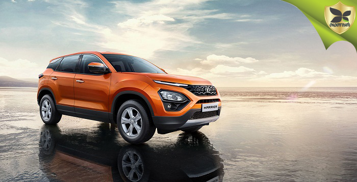 Tata Harrier Officially Revealed And First Car Roll Out
