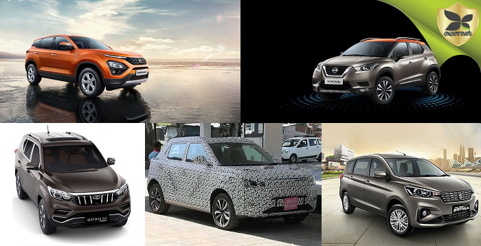 New Upcoming SUV Models In India In Couple Of Months