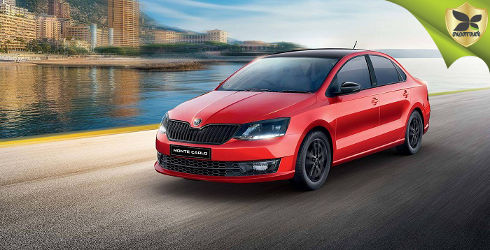 Skoda Rapid Monte Carlo Launched Again In India
