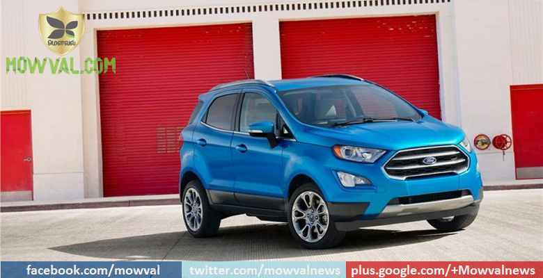 Ford EcoSport Facelift Revealed