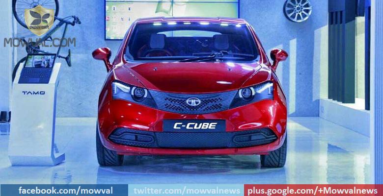 Tata Revealed The C-Cube Concept Hatchback