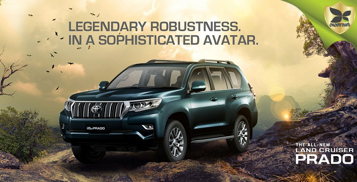2018 Toyota Land Cruiser Prado Launched In India
