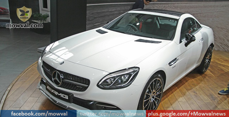 Mercedes-AMG SLC 43 launched in India at Rs 77.5 lakh