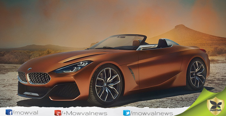BMW Z4 Roadster Concept Unveiled
