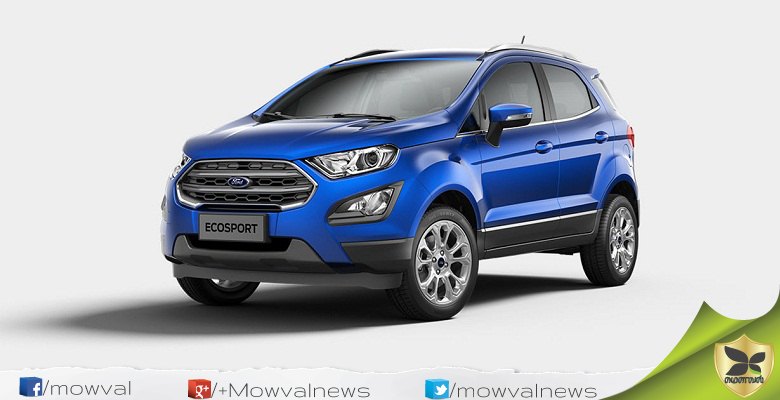 2018 Ford EcoSport to be launched on 15 September