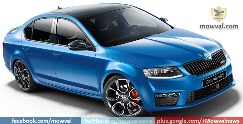 Skoda Might Introduce The Octavia vRS Again In India