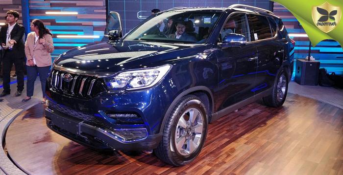 2018 Delhi Auto Expo: Mahindra Debuts Rebadged Rexton