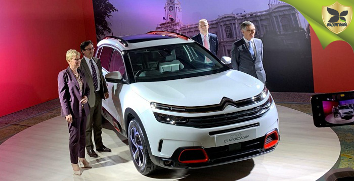 Citroen C5 Aircross Officially Revealed In India
