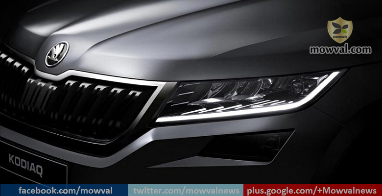 Skoda teases Some more images of the upcoming Kodiaq