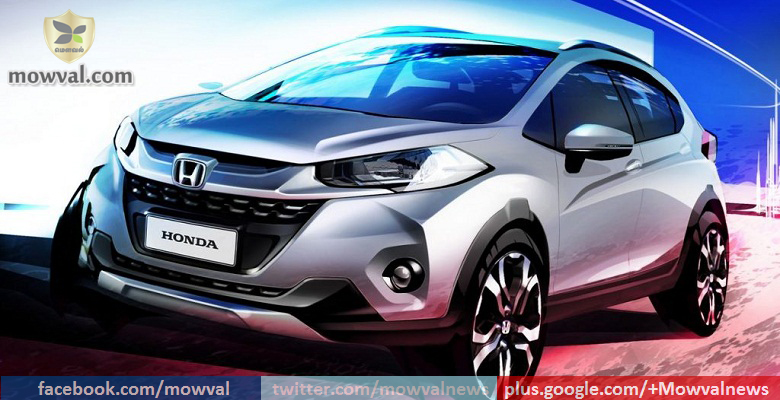 Honda Released  WR-Vs First Official Sketch