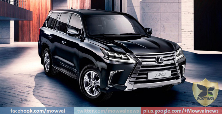 Lexus LX 450d launched in India at Rs 2.32 crore