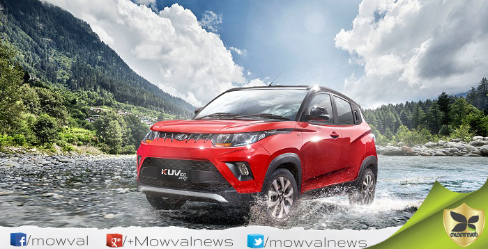 Mahindra KUV100 NXT Launched With Starting Price Of Rs 4.43 Lakh