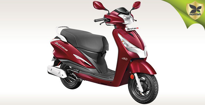 All New Hero Destini 125 Launched In India At Rs 54,650