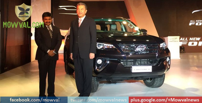 All-New Toyota Fortuner Launched At Starting Price of Rs 26.28 Lakh