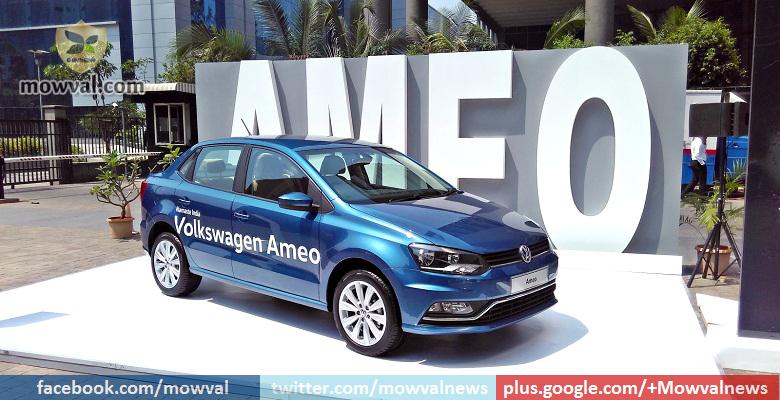 Volkswagen Ameo production begins
