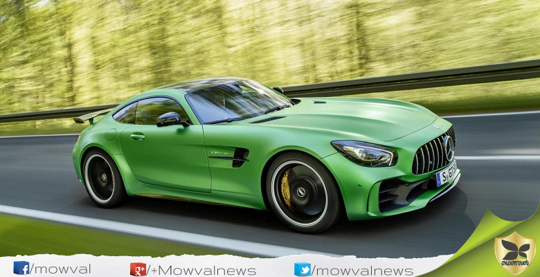Mercedes- Benz AMG GT Roadster And GT R To Be Launched On August 21