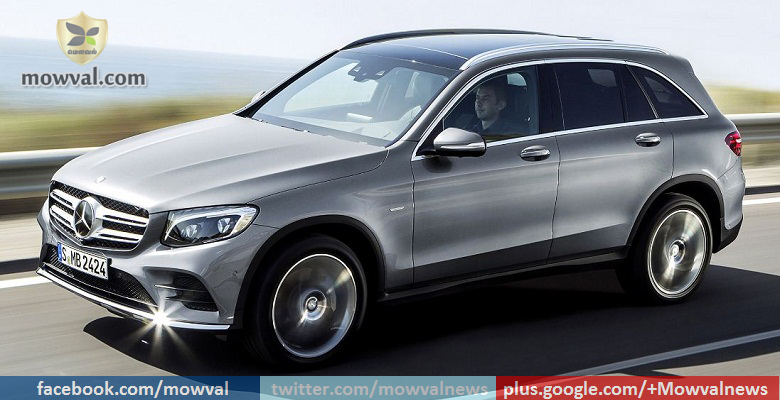 Mercedes-Benz GLC SUV to be launched on June 2
