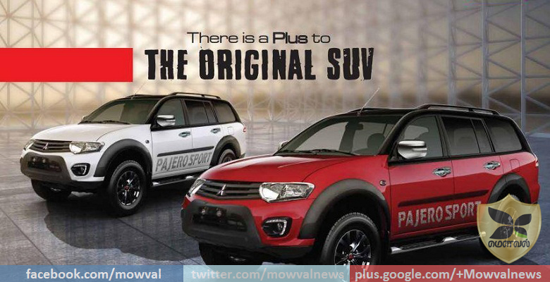 Mitsubishi Pajero Sport Select Plus Launched in India