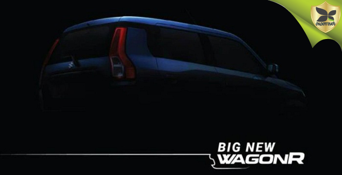 New-Gen Maruti Suzuki Wagon R Teased Ahead Of Launch